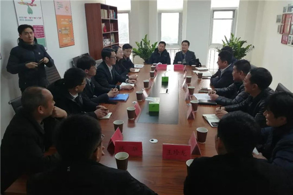 Qingdao High-tech Zone and Chengyang District complete handover of emp